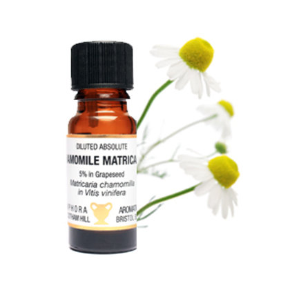 CHAMOMILE GERMAN ESSENTIAL OIL DILUTED  (5%) (Eases Insomnia & Stress)