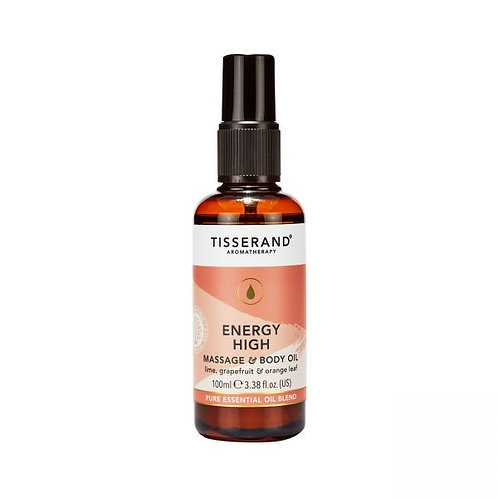 ENERGY HIGH MASSAGE AND BODY OIL (Energy Booster)