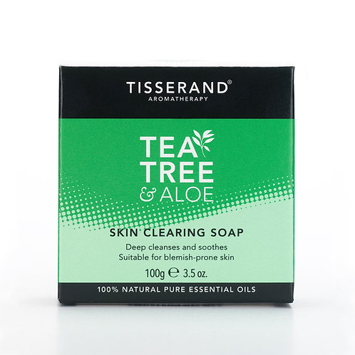 TEA TREE & ALOE SKIN CLEARING SOAP (Body Acne)