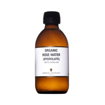 ORGANIC ROSE WATER (Hydrolate) (Face Toning)