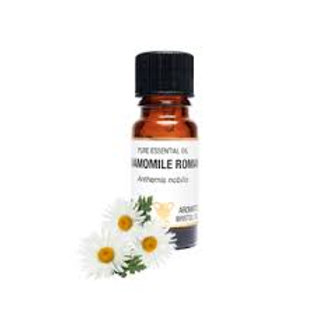 CHAMOMILE ROMAN ESSENTIAL OIL (Eases anxiety & Promotes Sleep)