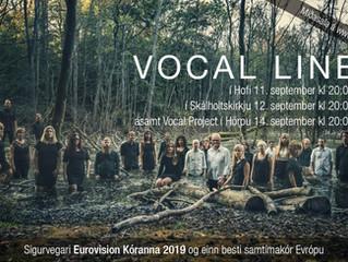 """Sigurvegari ,,Eurovision kóranna 2019"""" heldur tónleika á Íslandi"""