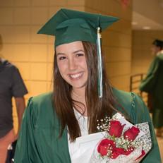 Laney at graduation