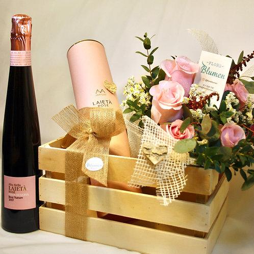 Flower Box Rosé