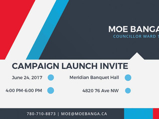 Campaign Launch Invite