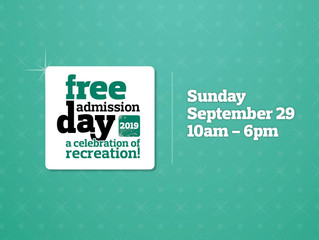 Free Admission Day - September 29