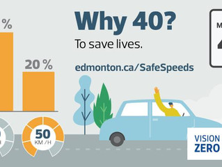 Speed reduction will make our streets safer