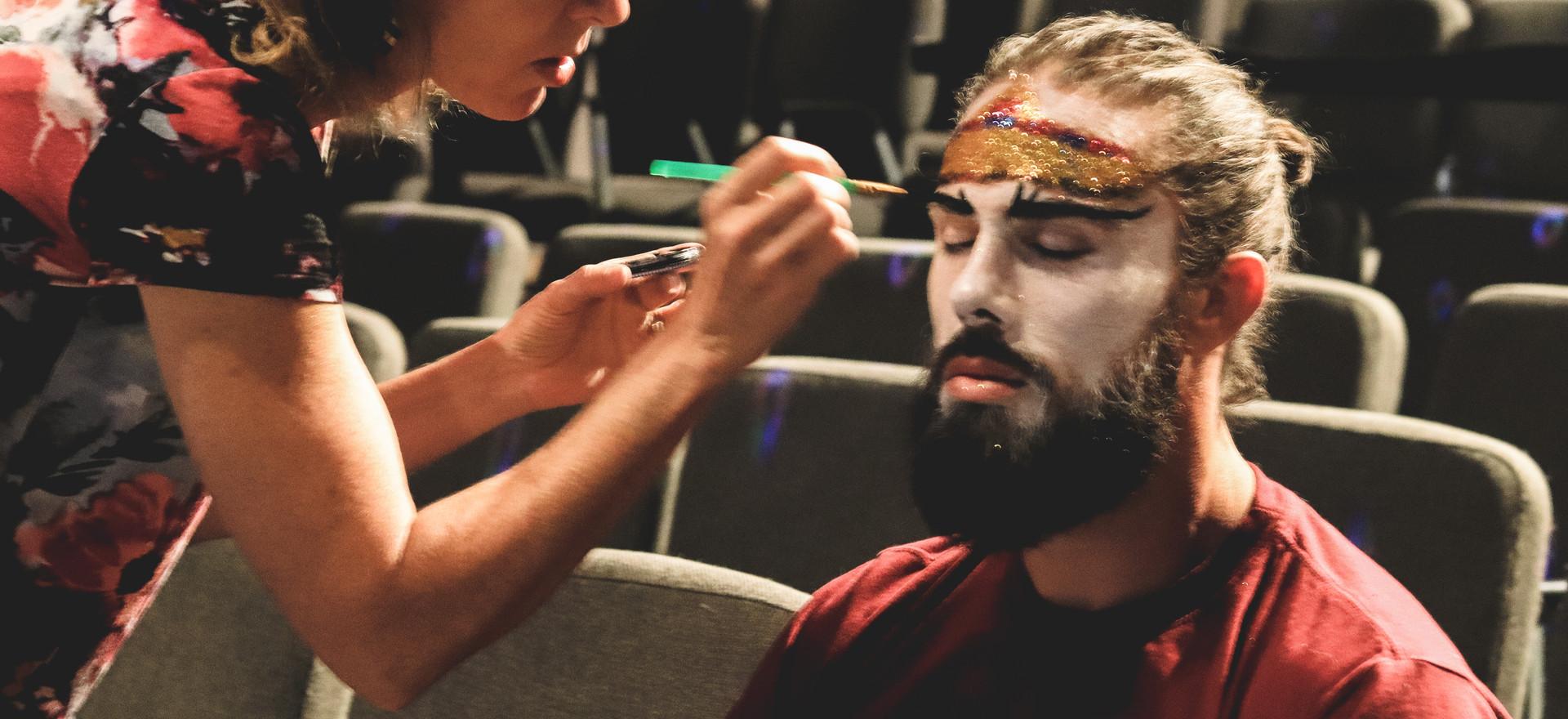 Behind the scenes w/The Durango Circus 2018