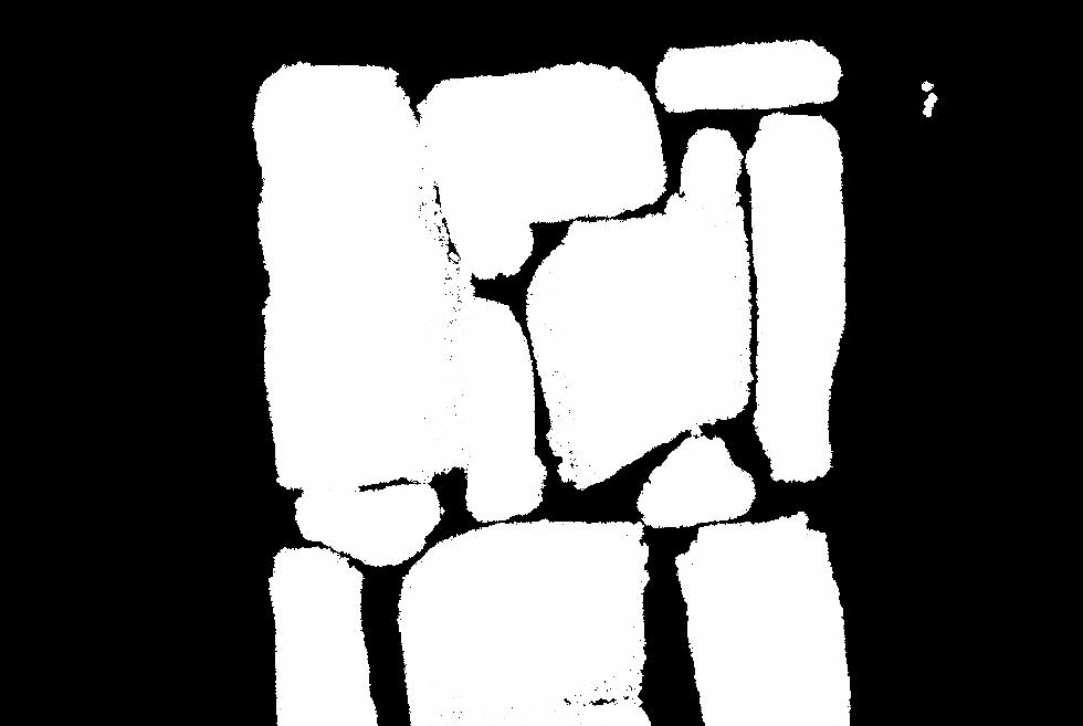 抽象的なブラシストローク