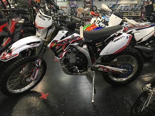 2008 YAMAHA WR 450