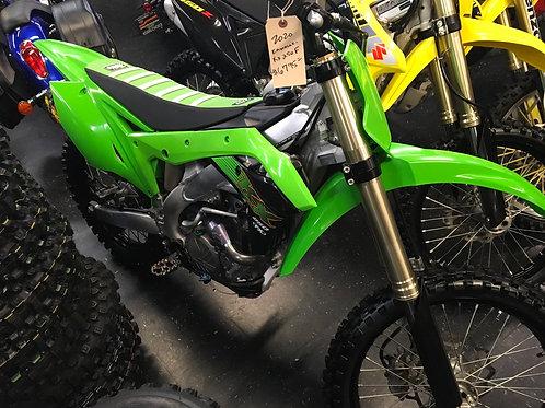 2020 Kawasaki 250f