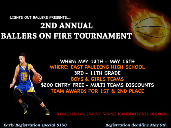 2nd Annual Ballers on Fire Tournament