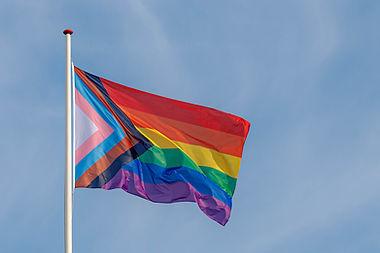 Progress pride flag (new design of rainb