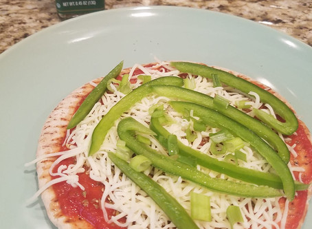 Quick and Easy Pita Pizza