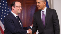 Hollande will sich mit Obama zum Krieg verabreden