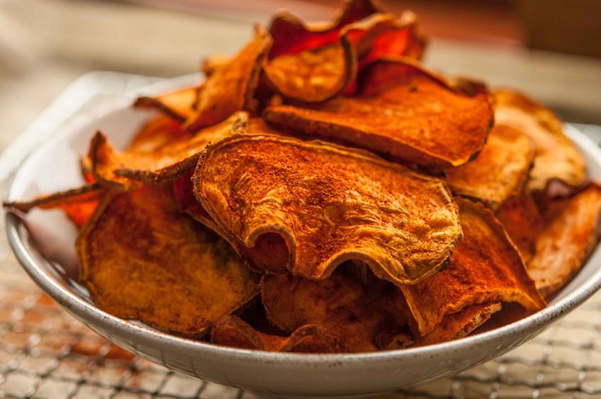 Süßkartoffelchips-Lecker und gesund?!