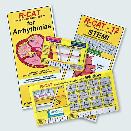 R-CAT Arrhtythmias + Stemi + Badge + Window