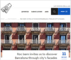 ArchiSearch Barcelona Facades by Roc Isern