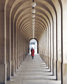 Archway row. Town Hall Extension. Manchester