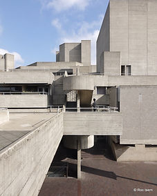 National Theater by Denys Lasdun. London