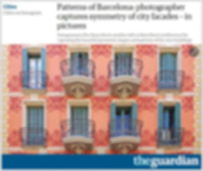 The Guardian Patterns of Barcelona by Roc Isern