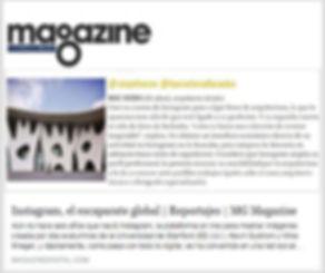 Magazine La Vanguardia Instagram Roc Isern