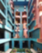 Walden 7 by Ricardo Bofill. St Just Desvern