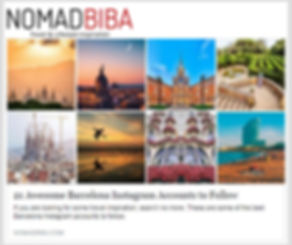 NomadBIBA.com 21 Barcelona instagrm accounts to follow StoptheRoc