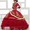 Thumbnail: RUFFLED CHARRO DRESS BY HOUSE OF WU LA GLITTER 24018
