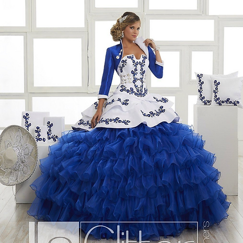 Charro dress 4 pieces by House of wu.