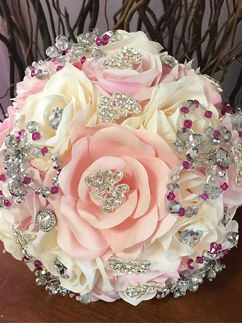 Pink & Ivory Bouquet.