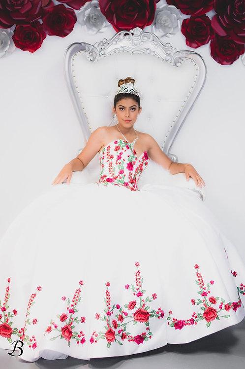 Charro Quinceañera dress