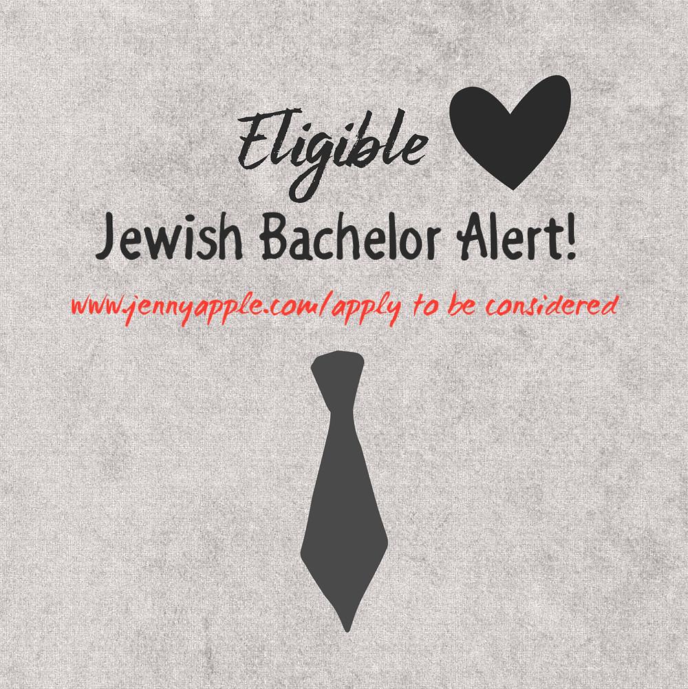 eligible jewish bachelor alert