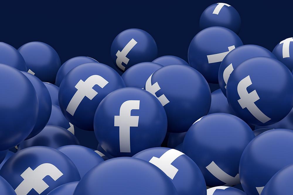 Facebook Icon; Facebook Ads; Blog; Herramienta Publicitaria
