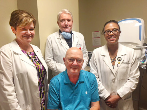 Hilton Head Macula Celebrates 2000th new patient
