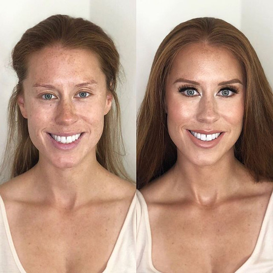 Who doesn't love a good before and after