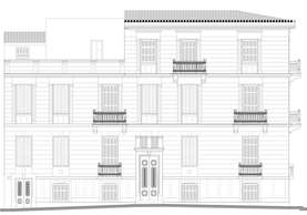 Preservation and reuse of a listed building