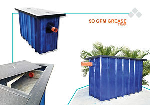 50GPM Grease Trap