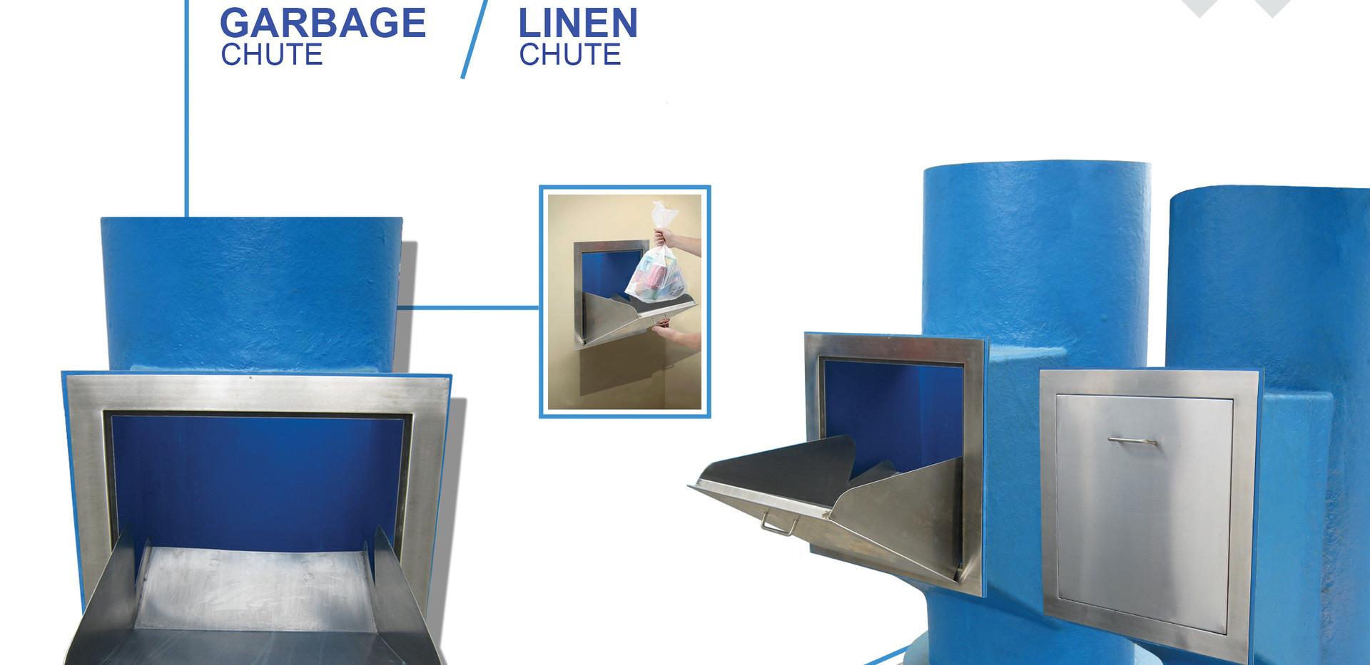 Garbage and Linen Chute