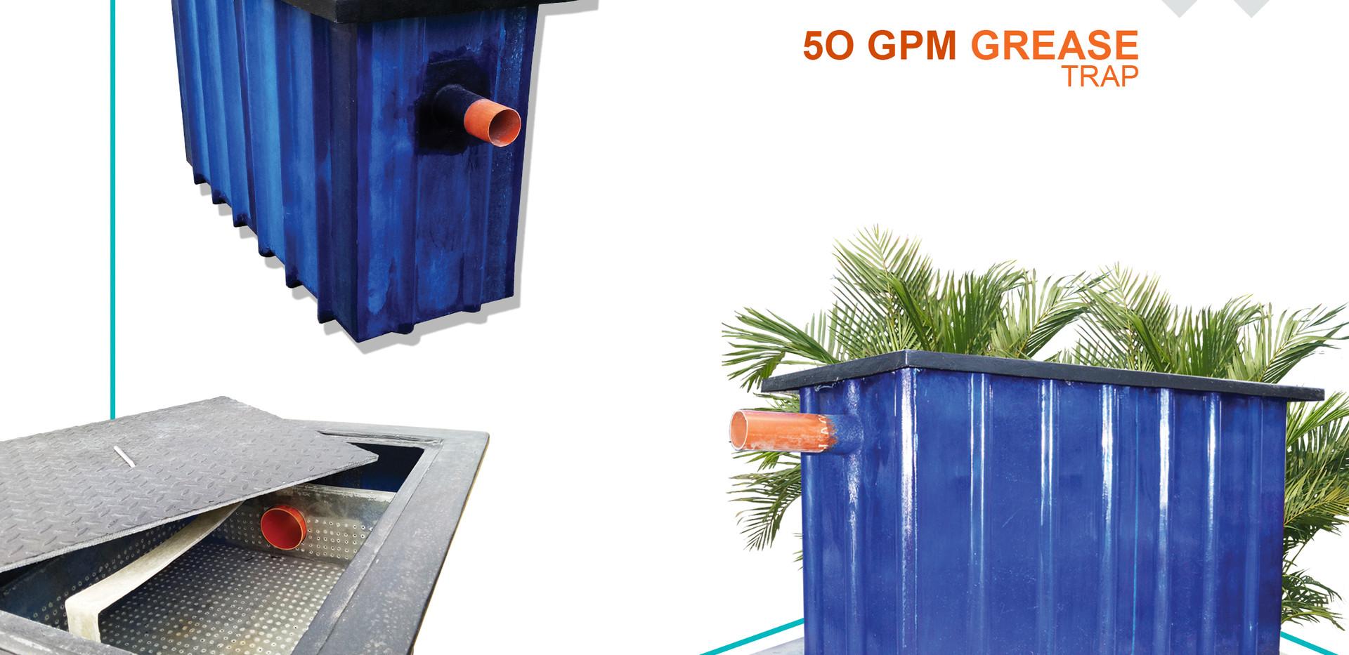 50 GPM Grease Trap