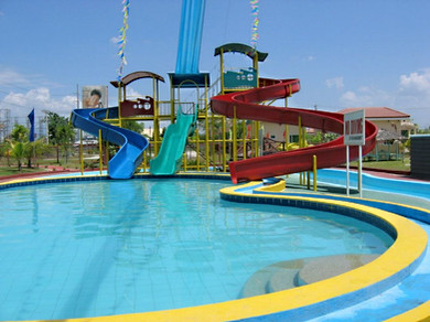 FRP Water Slide