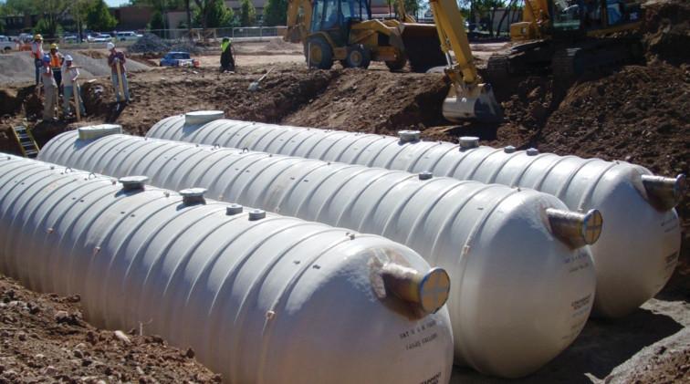FRP Underground Water Storage Tanks