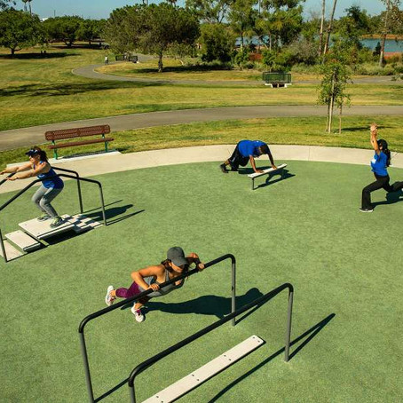 Outdoor Adult Fitness Gym - a Social Distancing Solution to the Pandemic