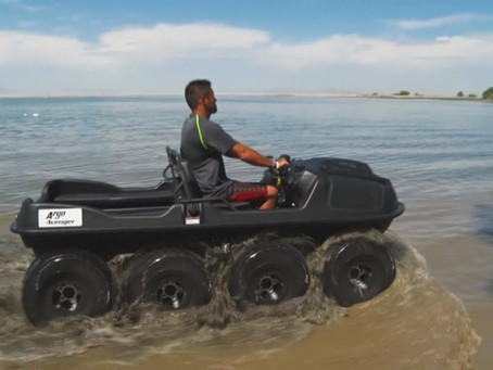 Stoneworks Specialist Intl., Corp. Supplies amphibious vehicles! Check out the Avenger 8x8!