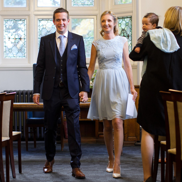 civil ceremony photography at Mayfair Library