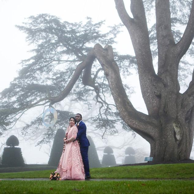 wedding photography The Grove