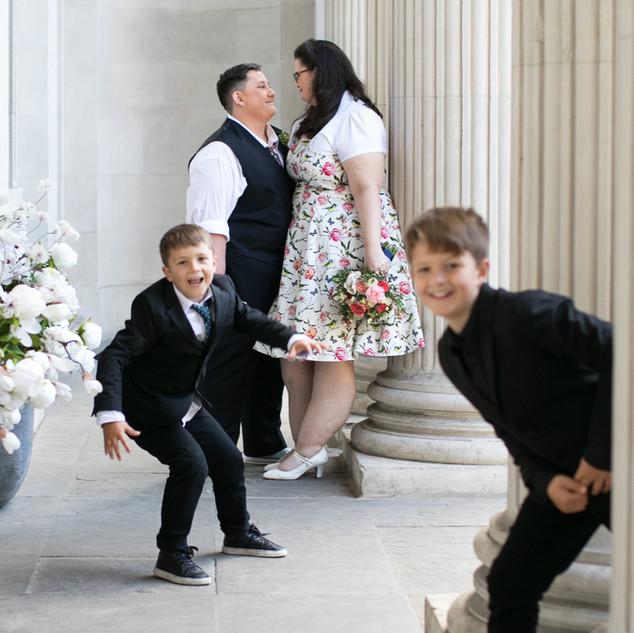 Lesbian wedding London