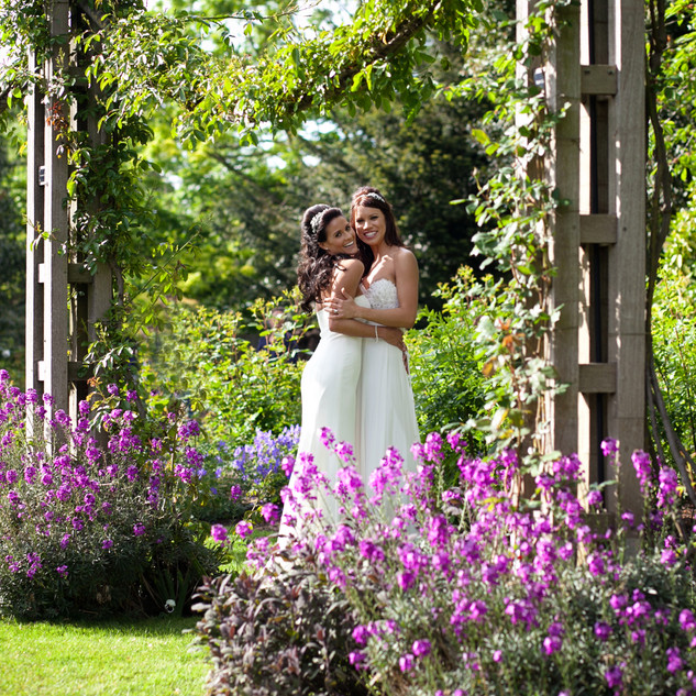 Two brides in London wedding