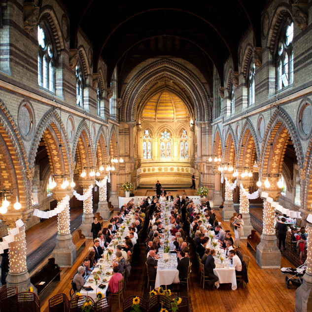 Hamstead wedding reception photo