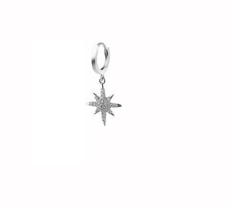 Piercing de estrella chico